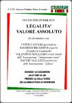 Legalità Valore Assoluto - 13 Dicembre 2012