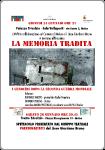La Memoria Tradita 24 Gennaio