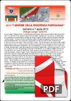 Malga Lunga Sui sentieri della resistenza Partigiana 2013