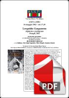 Locandina Leopoldo Gasparotto