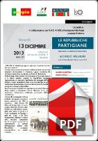 Repubbliche Partigiane - 13 Dicembre 2013