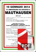 10 Gennaio Mauthausen