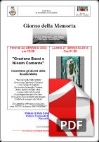24 Gennaio 2014 ANPI San Giorgio su Legnano