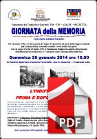 26 Gennaio 2014 ANPI Trezzano