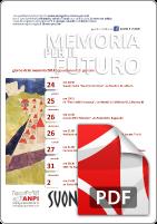 Suoni e l'ANPI giorno della Memoria