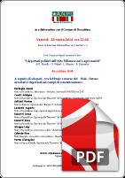 28 MARZO  conferenza prof Restelli