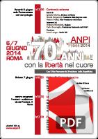Manifesto iniziative 70esimo ANPI