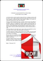 Lettera solidarietà ANPI