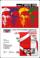 7 Marzo 2015 ANPI Eugenio Curiel
