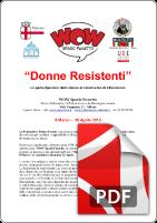 8 Marzo 2015 Donne Resistenti