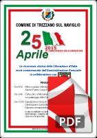 25 APRILE 2015 MANIFESTO